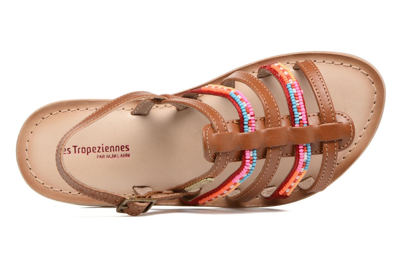 Sandales et nu-pieds Les Tropéziennes par M Belarbi Mango Marron vue gauche