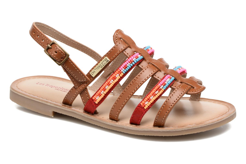 Sandales et nu-pieds Les Tropéziennes par M Belarbi Mango Marron vue détail/paire