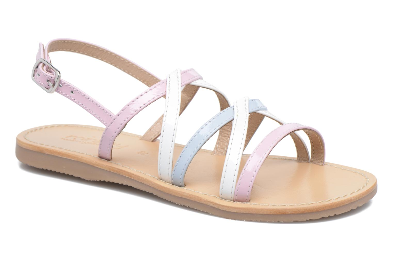 Sandales et nu-pieds Mellow Yellow Mnbalentin Rose vue détail/paire