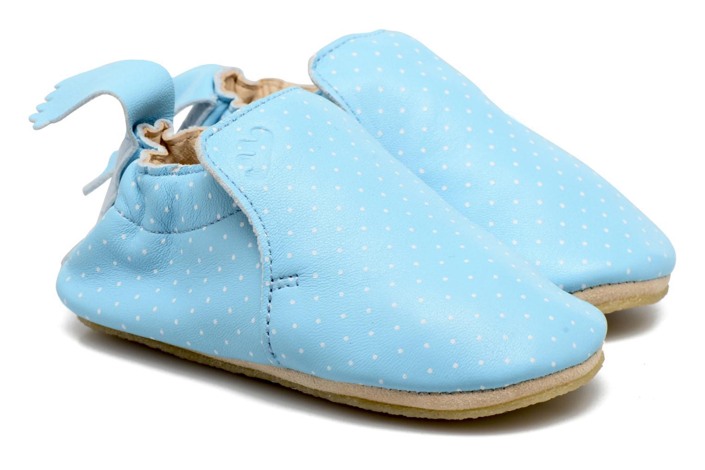 Chaussons Easy Peasy Blublu Print2 Bleu vue portées chaussures