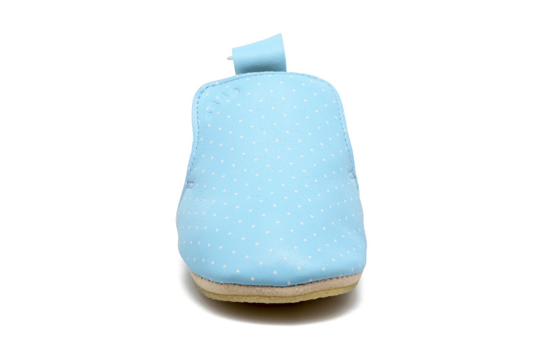 Chaussons Easy Peasy Blublu Print2 Bleu vue face