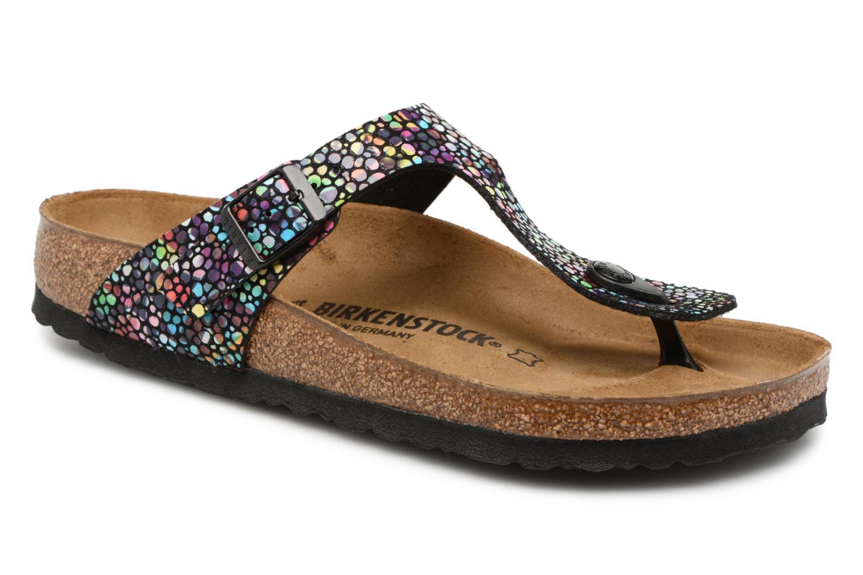 Grandes descuentos últimos zapatos Birkenstock Gizeh Microfibre W (Multicolor) - Zuecos Descuento