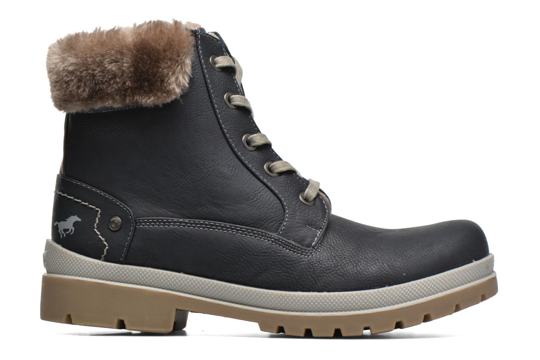 Bottines et boots Mustang shoes Aurelle Bleu vue derrière