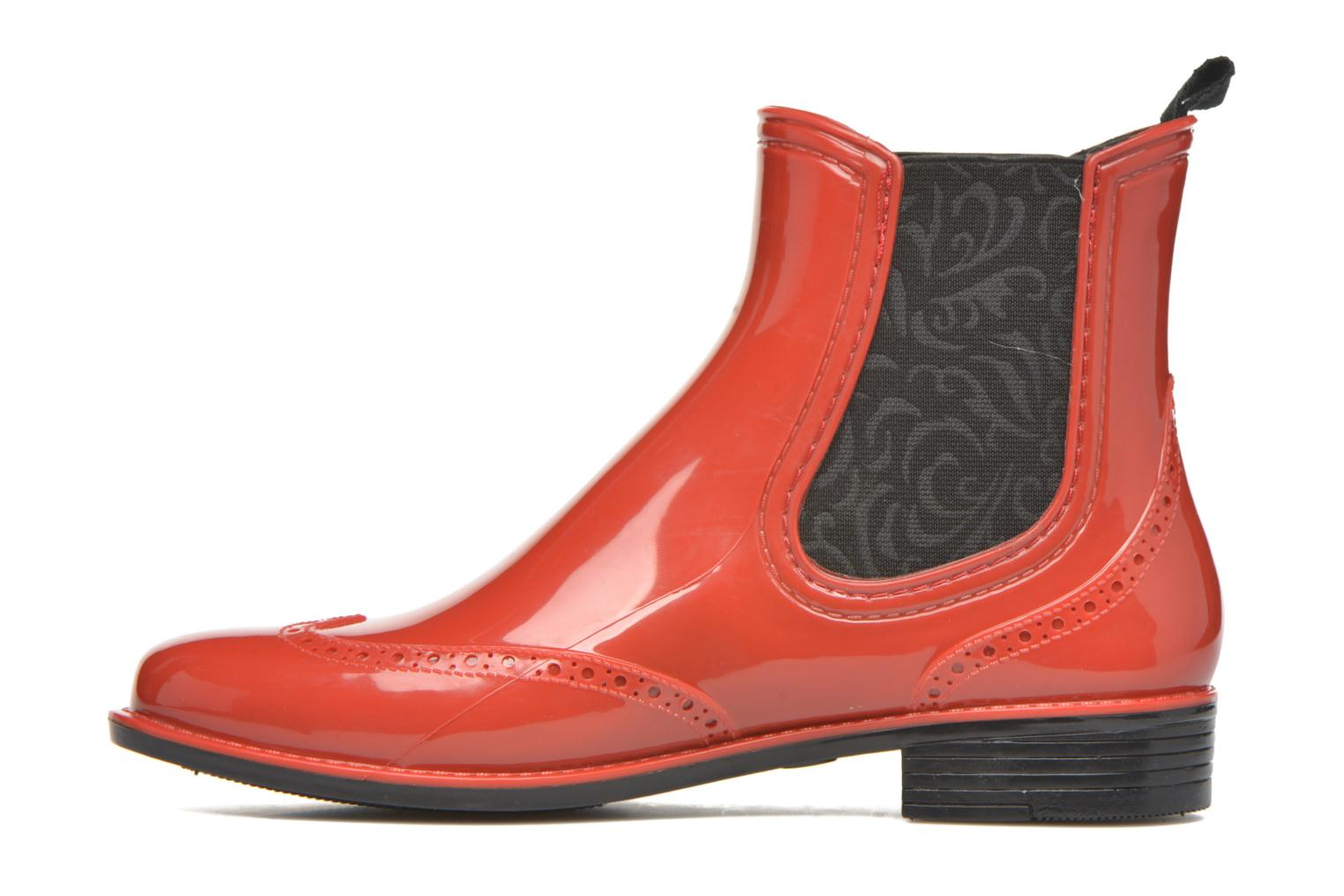 Bottines et boots Mustang shoes Betina Rouge vue face