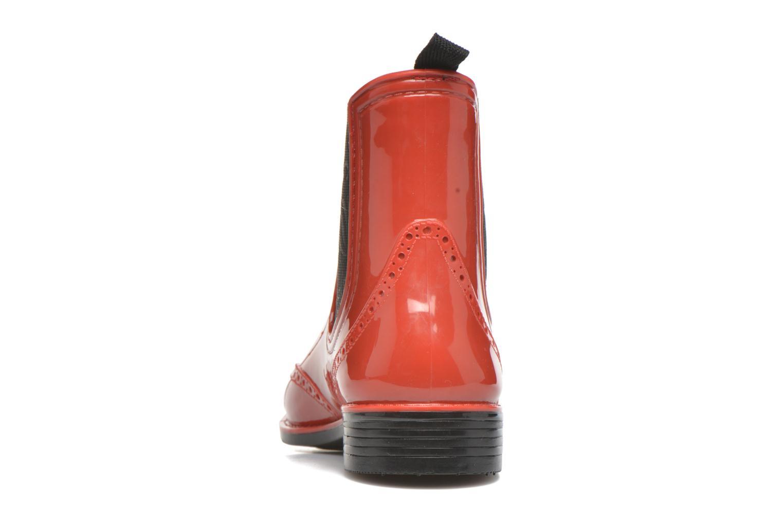 Bottines et boots Mustang shoes Betina Rouge vue droite
