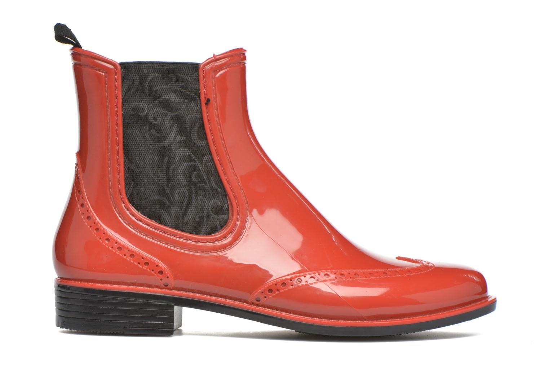 Bottines et boots Mustang shoes Betina Rouge vue derrière