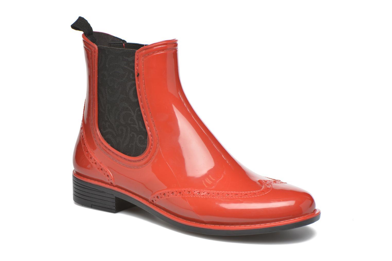 Bottines et boots Mustang shoes Betina Rouge vue détail/paire