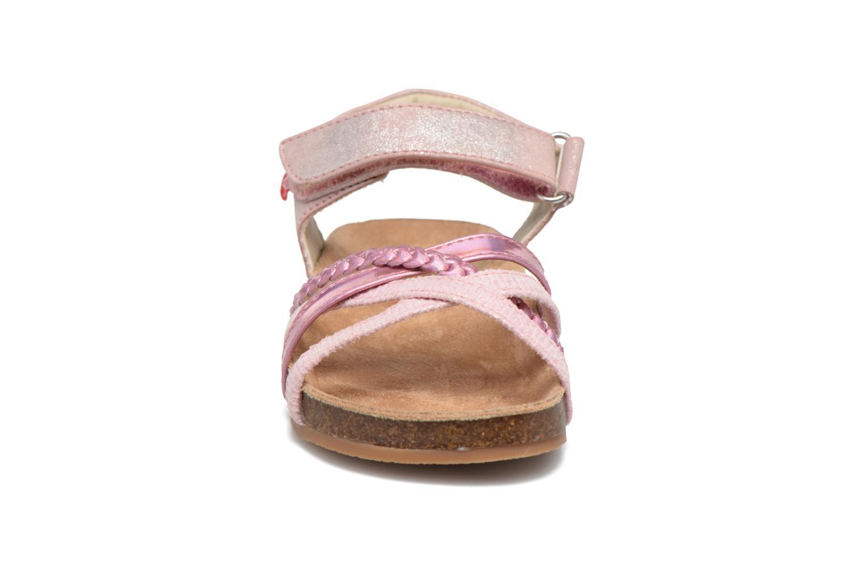 Sandales et nu-pieds NA! Aglaya Rose vue portées chaussures