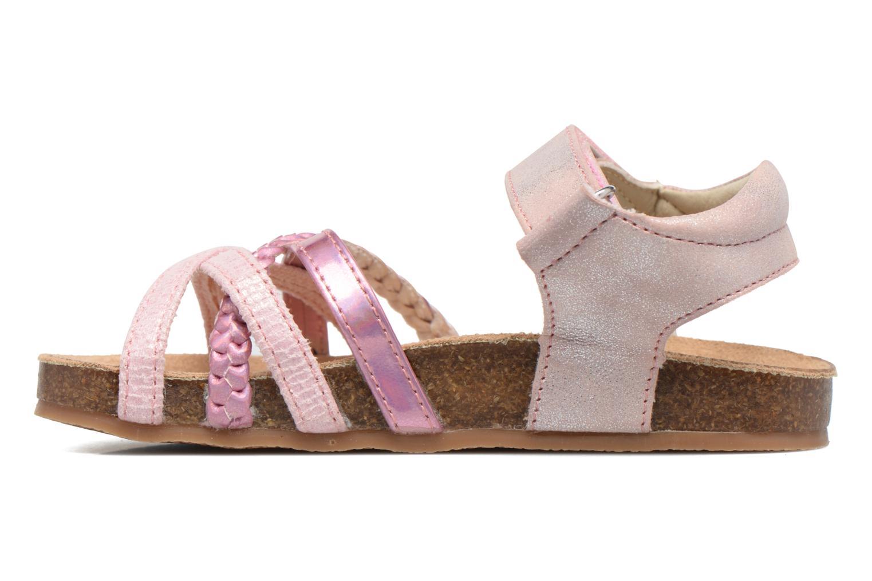 Sandales et nu-pieds NA! Aglaya Rose vue face