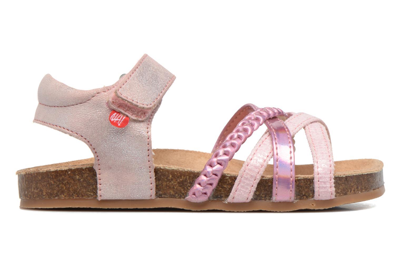 Sandales et nu-pieds NA! Aglaya Rose vue derrière