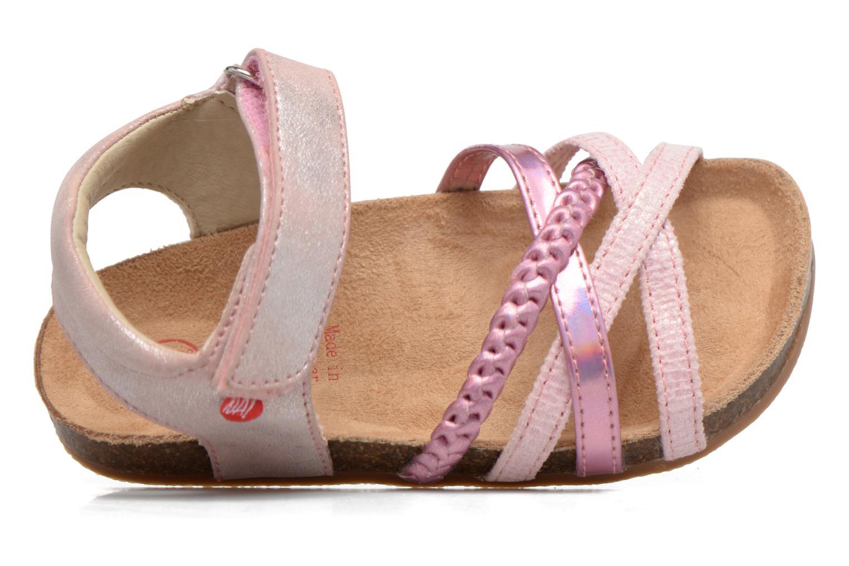 Sandales et nu-pieds NA! Aglaya Rose vue gauche