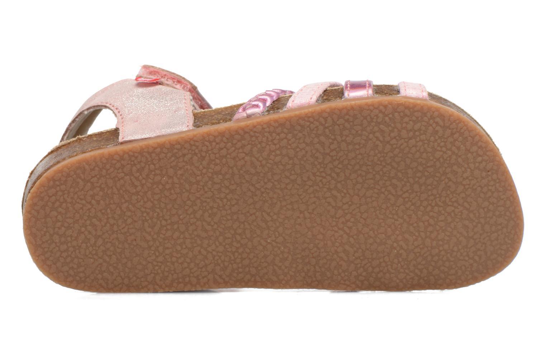 Sandales et nu-pieds NA! Aglaya Rose vue haut