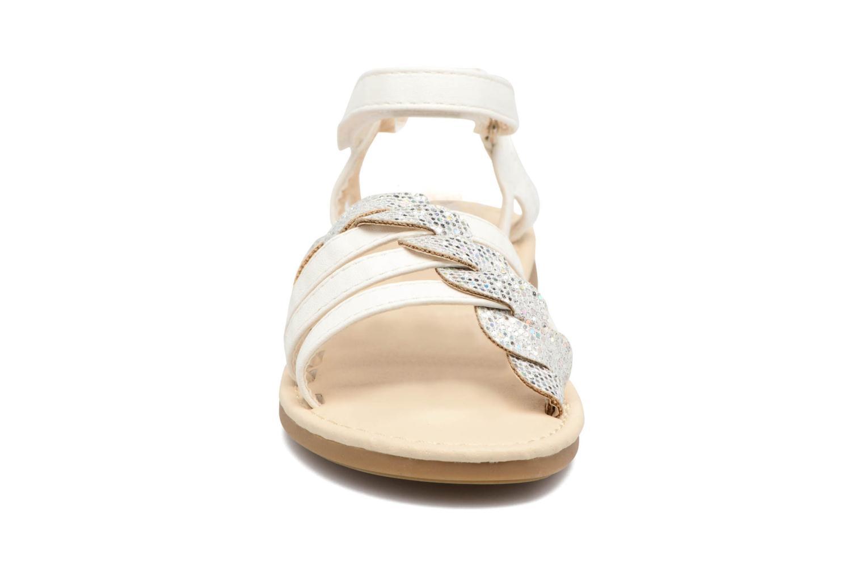 Sandalen NA! Feerie weiß schuhe getragen
