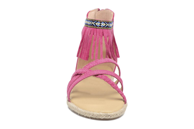 Sandali e scarpe aperte NA! Rash Rosa modello indossato