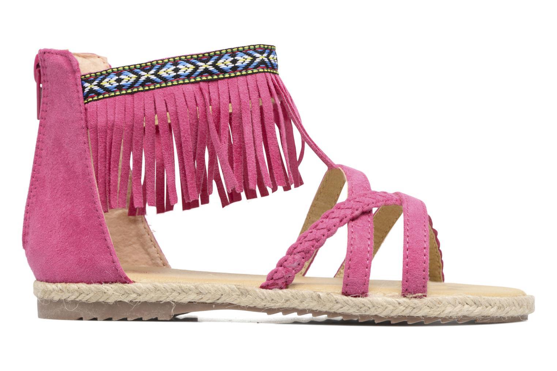 Sandales et nu-pieds NA! Rash Rose vue derrière