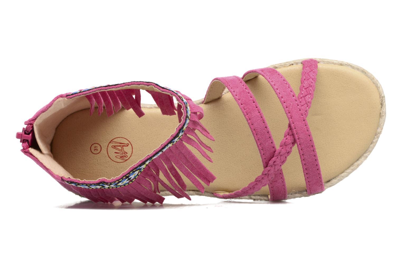 Sandales et nu-pieds NA! Rash Rose vue gauche