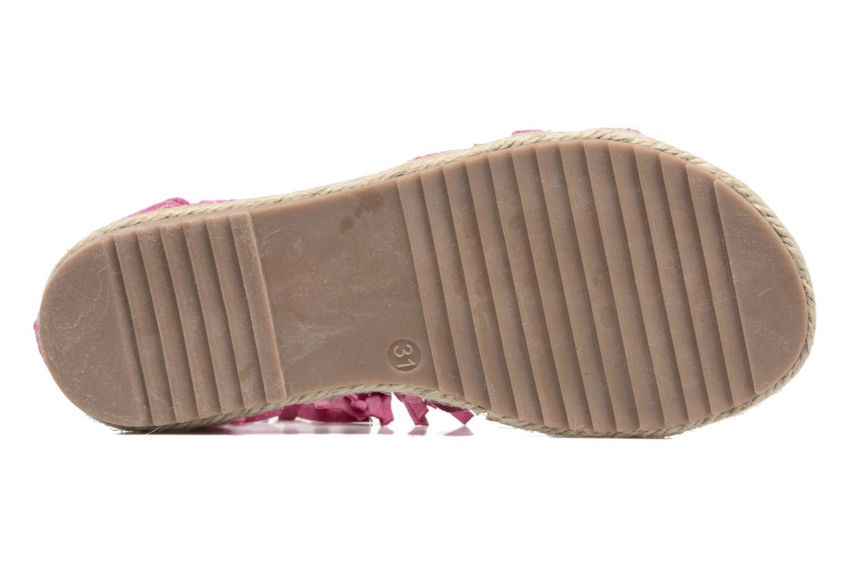 Sandales et nu-pieds NA! Rash Rose vue haut