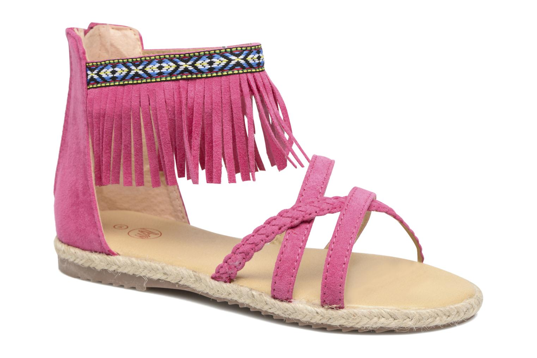 Sandales et nu-pieds NA! Rash Rose vue détail/paire