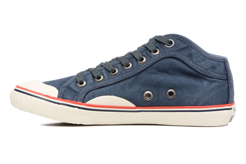 Baskets Pepe jeans Industry Road Junior Bleu vue face