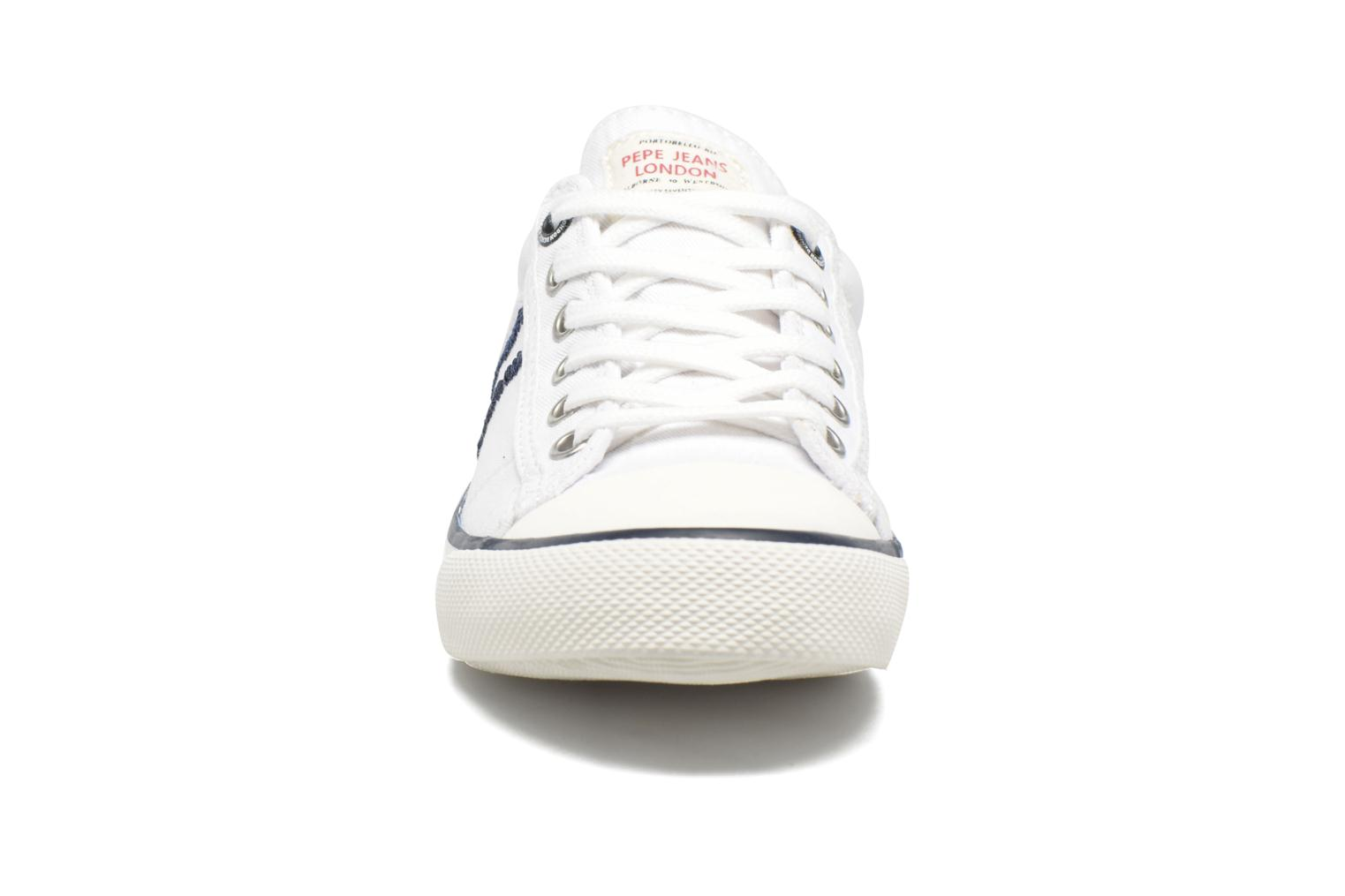 Trainers Pepe jeans Serthi Basic White model view