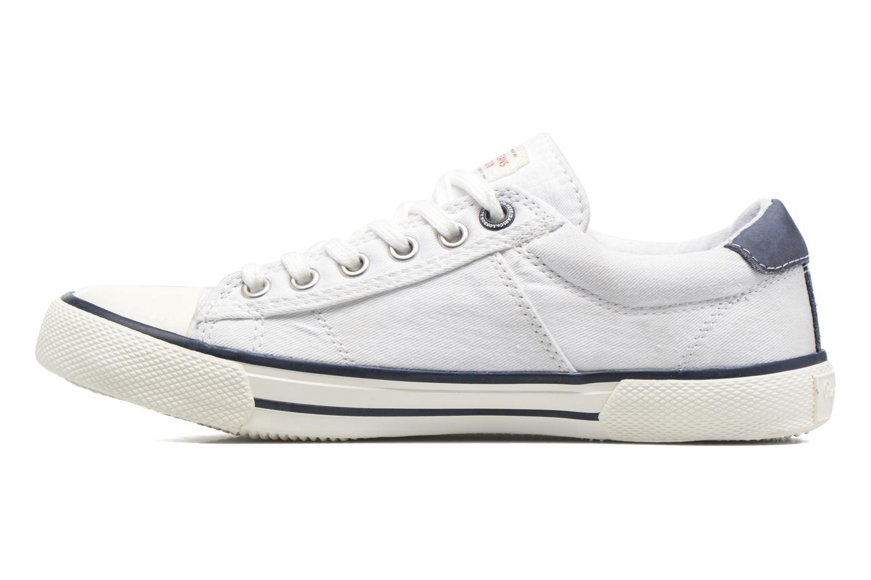 Sneaker Pepe jeans Serthi Basic weiß ansicht von vorne