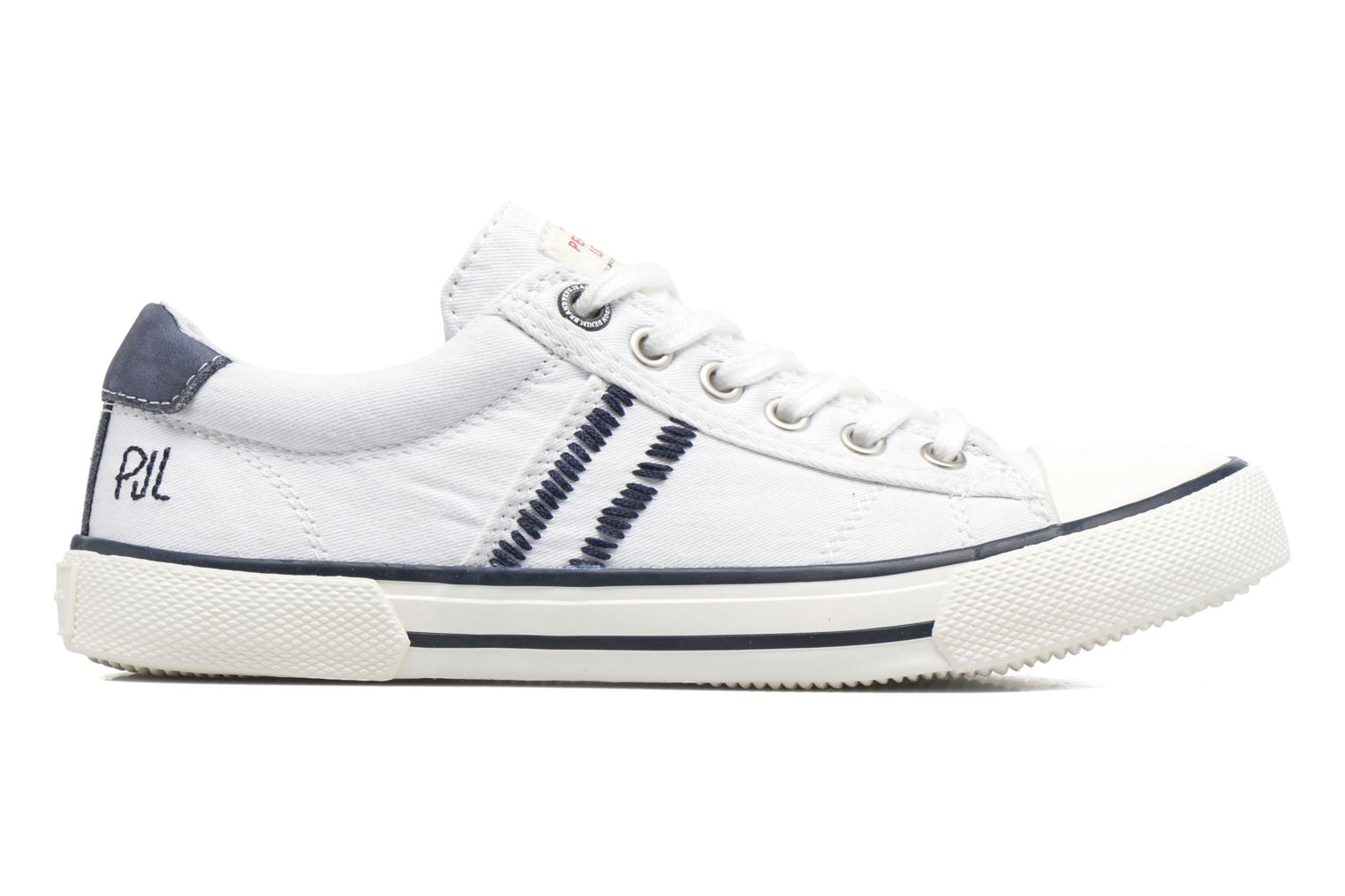 Trainers Pepe jeans Serthi Basic White back view