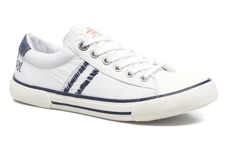 Sneaker Pepe jeans Serthi Basic weiß detaillierte ansicht/modell