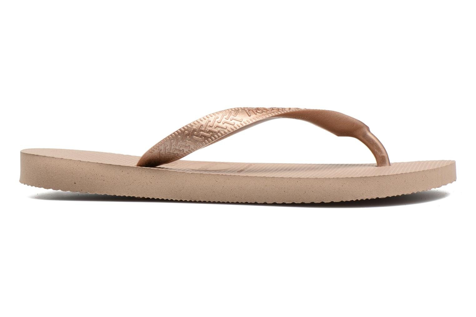 Flip flops Havaianas Top Tiras Brown back view