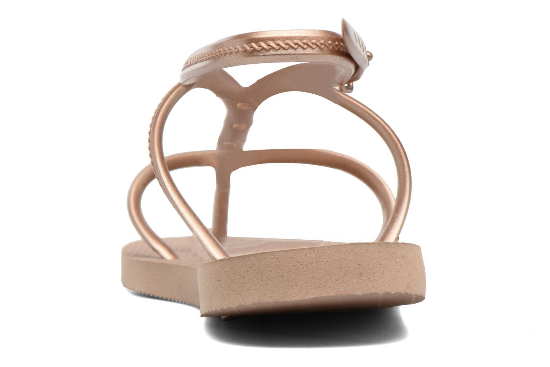 Sandales et nu-pieds Havaianas Allure Maxi Marron vue droite