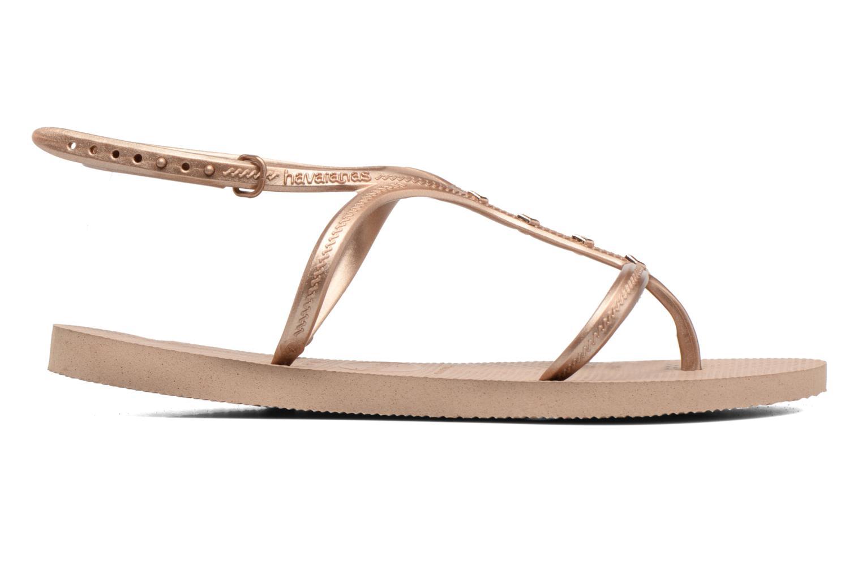 Sandales et nu-pieds Havaianas Allure Maxi Marron vue derrière