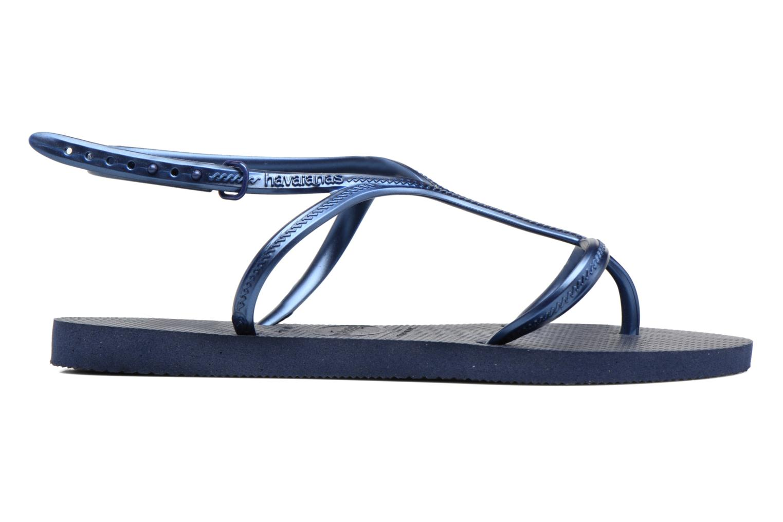 Sandalias Havaianas Allure Azul vistra trasera