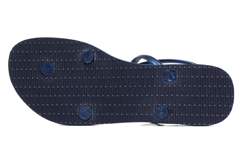 Sandales et nu-pieds Havaianas Allure Bleu vue haut