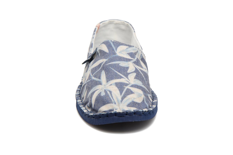 Scarpe di corda Havaianas Origine Orquideas Azzurro modello indossato