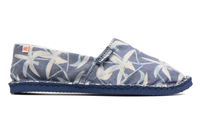 Scarpe di corda Havaianas Origine Orquideas Azzurro immagine posteriore
