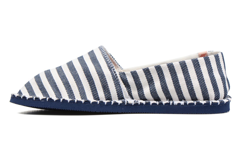 Scarpe di corda Havaianas Origine Listras Azzurro immagine frontale