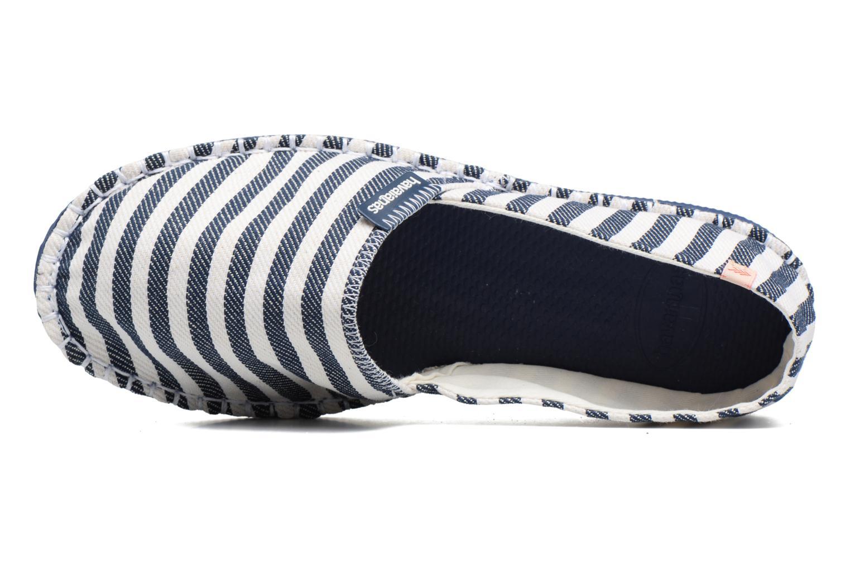 Scarpe di corda Havaianas Origine Listras Azzurro immagine sinistra