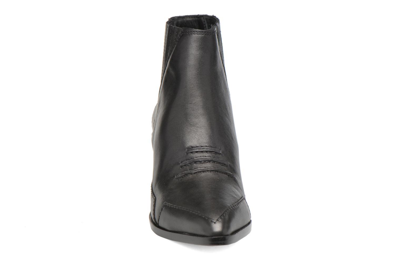 Bottines et boots Diesel D-Stela MA Noir vue portées chaussures