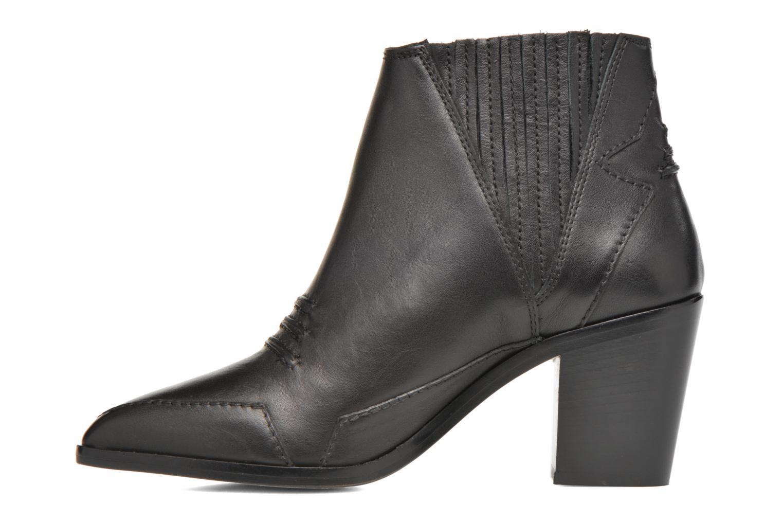 Bottines et boots Diesel D-Stela MA Noir vue face