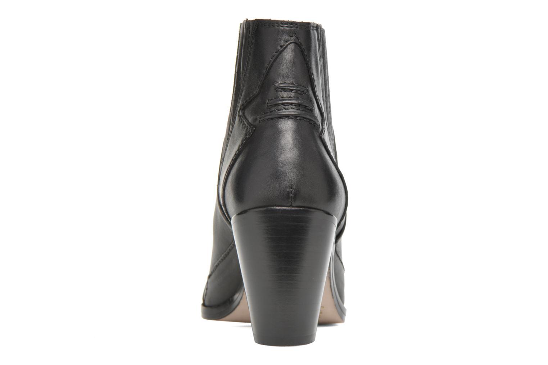 Bottines et boots Diesel D-Stela MA Noir vue droite