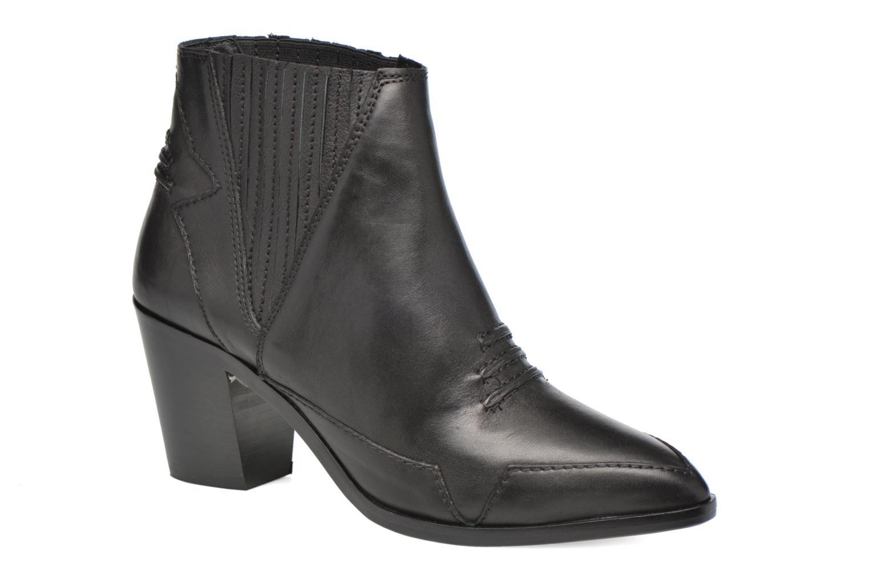 Bottines et boots Diesel D-Stela MA Noir vue détail/paire