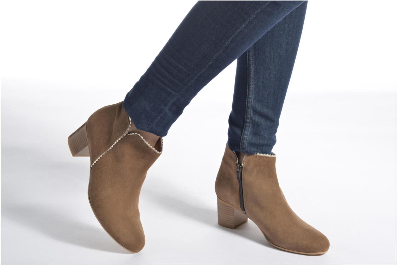 Bottines et boots Georgia Rose Celijo Bleu vue bas / vue portée sac