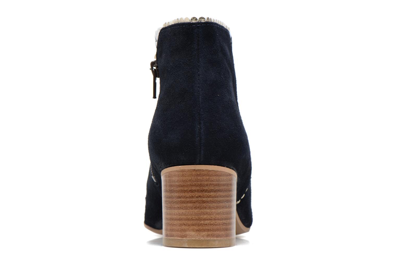 Bottines et boots Georgia Rose Celijo Bleu vue droite