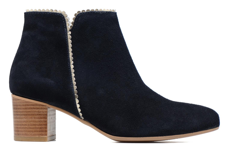 Bottines et boots Georgia Rose Celijo Bleu vue derrière