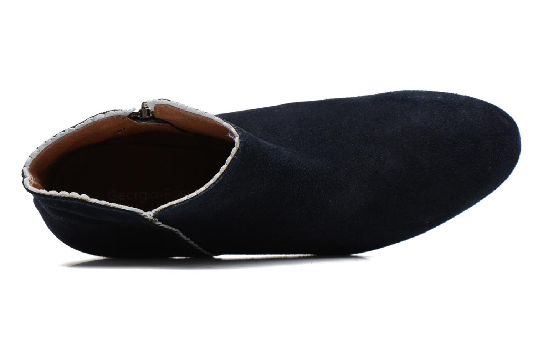 Bottines et boots Georgia Rose Celijo Bleu vue gauche