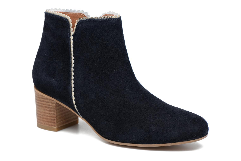 Zapatos promocionales Georgia Rose Celijo (Azul) - Botines    Cómodo y bien parecido