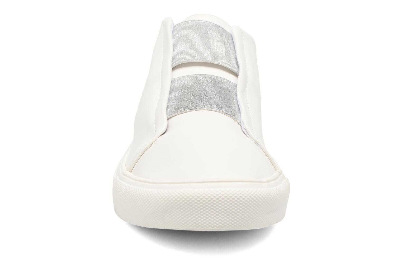 Baskets Dorothy Perkins Iona Blanc vue portées chaussures
