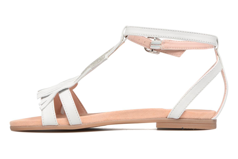 Sandales et nu-pieds Unisa Lestar Blanc vue face