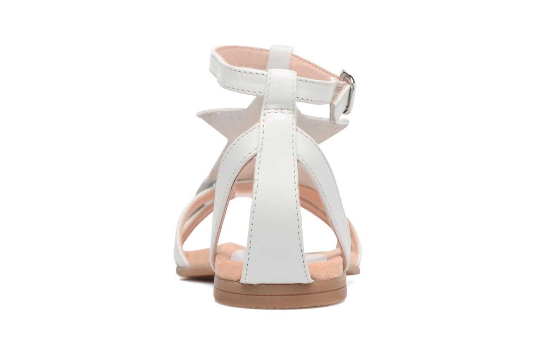 Sandales et nu-pieds Unisa Lestar Blanc vue droite