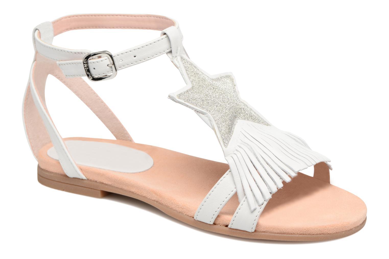 Sandales et nu-pieds Unisa Lestar Blanc vue détail/paire