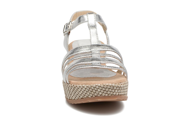 Sandales et nu-pieds Unisa Ticor Argent vue portées chaussures